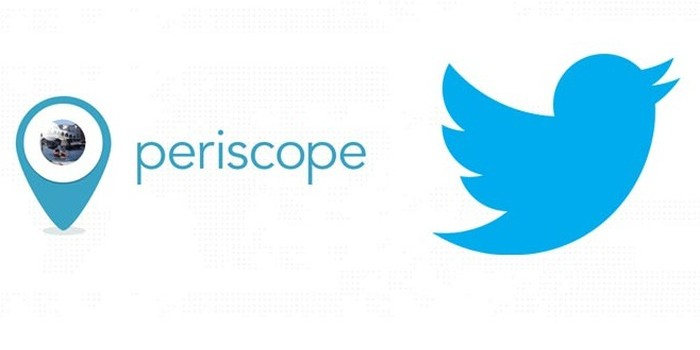 Logotipos do Twitter e Periscope