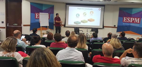 Sala de aula - ESPM | curso de marketing político digital com Marcelo Vitorino
