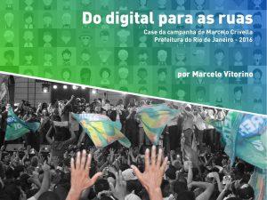 """Marketing político digital: capa do e-book """"Do digital para as ruas"""""""