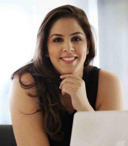Natália Mateus, professora do curso on-line sobre impulsionamento de posts para campanhas eleitorais