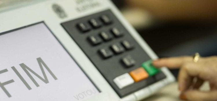 urna eletrônica que será usada na eleição para vereador em 2020