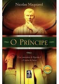 Capa do livro o príncipe para compor a lista d livros sobre marketing político