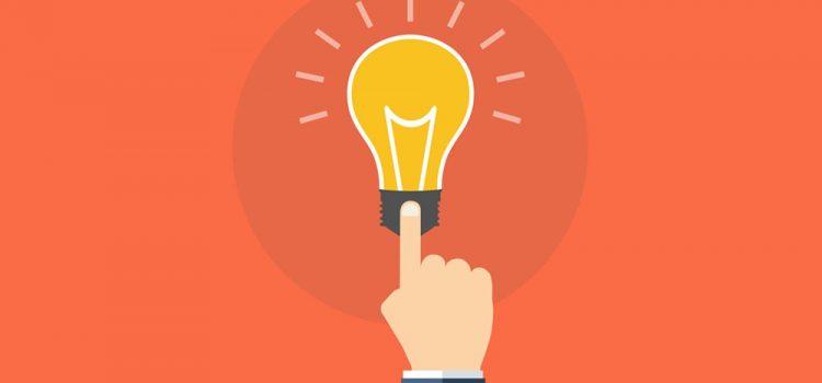 imagem de ícone de lâmpada para representar as dicas para quem está começando no marketing político