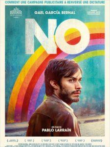 Cartaz do filme NO para compor a lista dos filmes para quem trabalha com marketing político