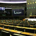 Imagem do plenário da Câmara dos Deputados para exemplificar o marketing político.