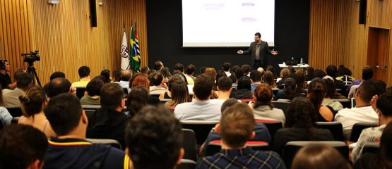 Auditório do MasterClass - curso de marketing político