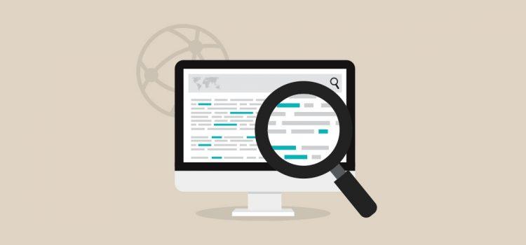 Os mecanismos de pesquisa são fundamentais para a construção de reputação na internet.