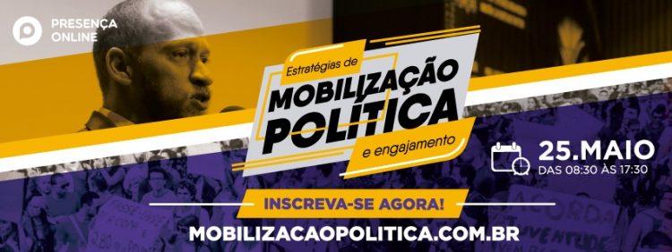 Imagem do consultor Fabrício Moser para ilustrar o curso de mobilização política