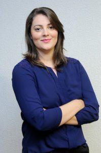 foto da palestrante do seminário de comunicação política