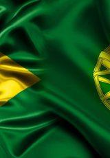 Bandeiras do brasil e de portugal para simbolizar os aprendizados das eleições dos dois países