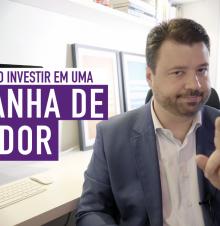 imagem do professor Marcelo vitorino com o texto: Quanto investir em uma campanha de vereador