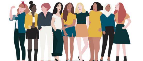 imagem ilustrativa para representar a participação de mulheres na política