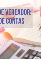 caderno e calculadora para ilustrar a prestação de cointas para campanha de vereador