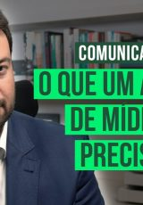 Foto do professor e consultor de marketing político Marcelo Vitorino com o texto: o que um analista de mídia social precisa saber