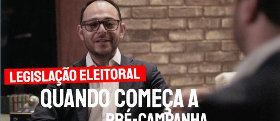 umagem do advogado eleitoral gustavo kanffer com o texto: quando começa a pré-campanha