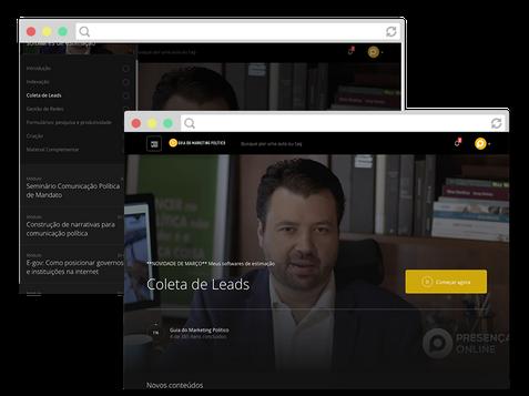 imagem de tela do guia do marketing político para texto de vendas de cursos online de marketing político