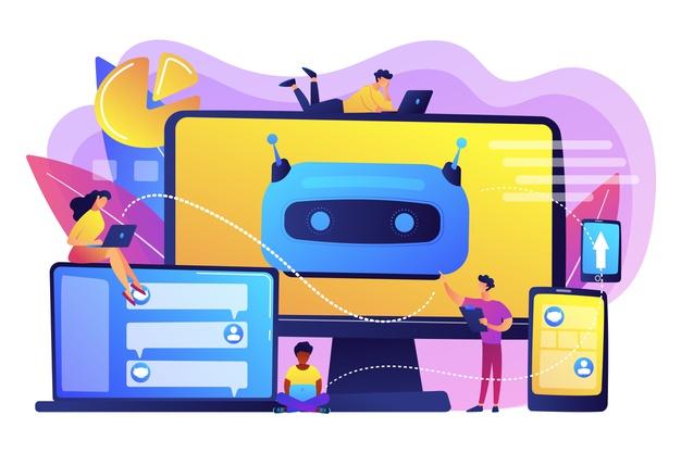 imagem de um robô para representar o uso de chatbots na comunicação de mandatos e instituições